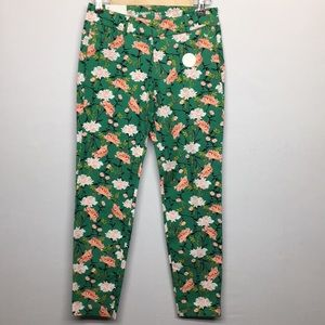 Old Navy Green Pixie Pants